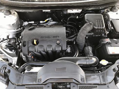 Bán Kia Cerato HB 1.6AT màu ghi bạc số tự động nhập Hàn Quốc 2012 đi 45000km 1