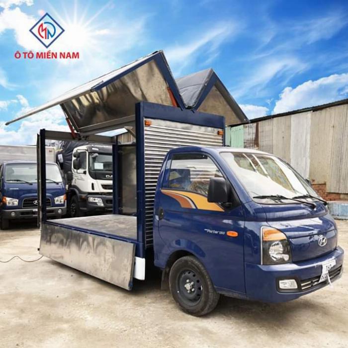 Xe tải HYUNDAI PORTER thùng kín Cánh Dơi tải 1.5 tấn - Trả Góp 2