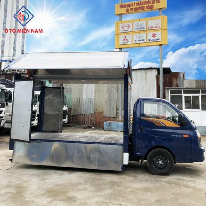 Xe tải HYUNDAI PORTER thùng kín Cánh Dơi tải 1.5 tấn - Trả Góp 3