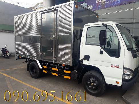 Xe tải isuzu  2.4 tấn thùng kín , Xe mới, Giá rẻ, siêu tiết kiệm nhiên liệu