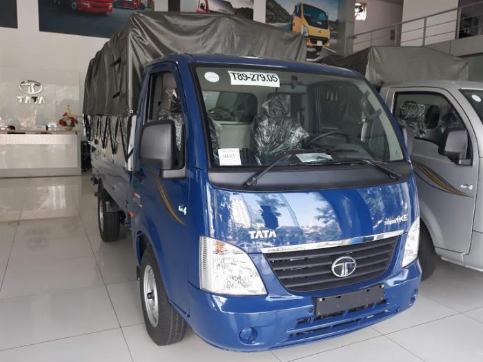Bán xe Tata 1.2 tấn, tiêu thụ 5l/100km, điêu hòa 2 chiều.