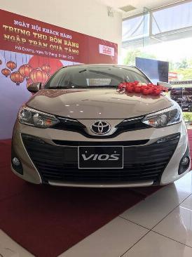 Bán xe Toyota Vios 2019 trả góp tại hải dương.Gọi ngay 0976394666 3