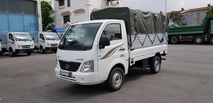Bán xe Tata 1.2 tấn, tiêu thụ 5l/100km, điêu hòa 2 chiều. 8