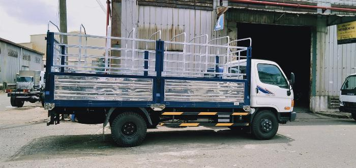 xe tải huyndai 7t9 thùng lững new mighty 2017