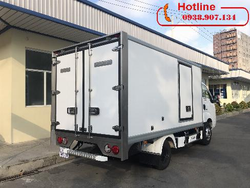 Xe Tải ĐÔNG LẠNH KIA K250 Tải Trọng 1490/1990 - Xe tải đông lạnh - Đ/cơ HYUNDAI - Trả Góp Tp.HCM- LH: 0938.907.134