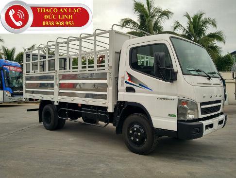 Xe tải Fuso Canter4.99 đời 2019 tải trọng 2,1 tấn đi vào thành phố. Xe Nhật chất lượng Nhật