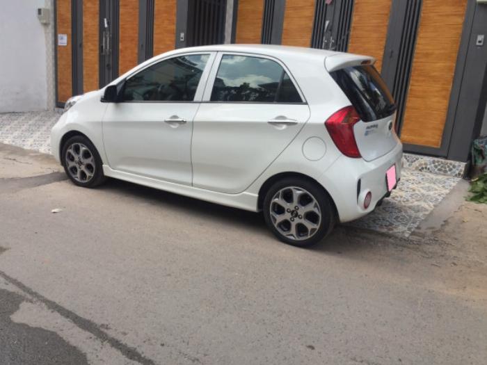 Cần bán xe Kia Morning Si 1.25MT 2016 đk 2017 màu trắng biển tp 7
