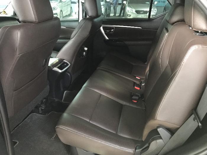 Bán Toyota Fortuner 2.8V 2 cầu số tự động máy dầu nhập khẩu INDONESIA T5/2019 màu đen VIP đi 8000km 0