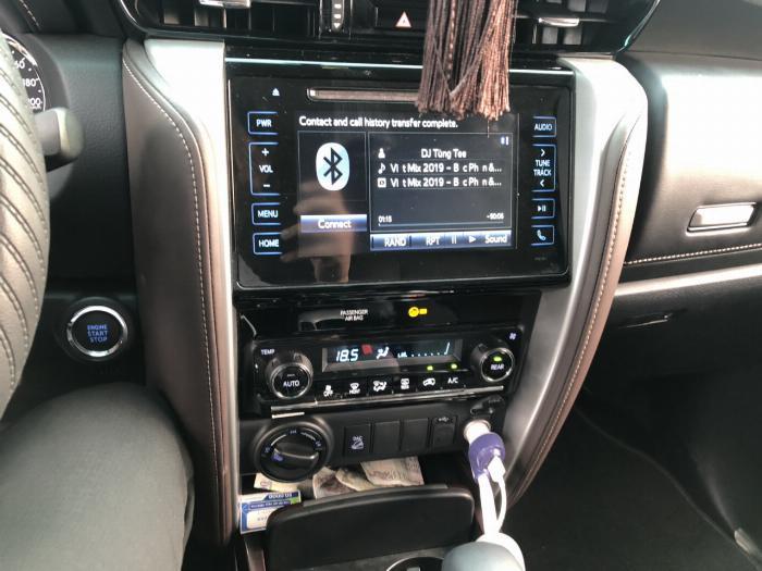 Bán Toyota Fortuner 2.8V 2 cầu số tự động máy dầu nhập khẩu INDONESIA T5/2019 màu đen VIP đi 8000km 5