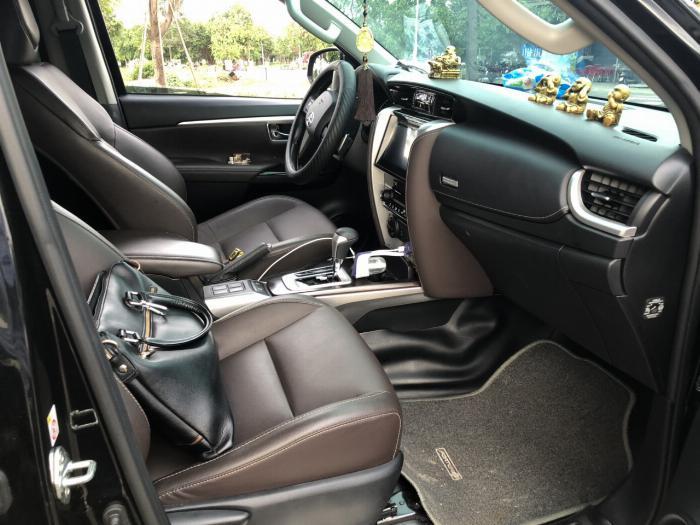 Bán Toyota Fortuner 2.8V 2 cầu số tự động máy dầu nhập khẩu INDONESIA T5/2019 màu đen VIP đi 8000km 24