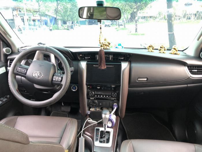 Bán Toyota Fortuner 2.8V 2 cầu số tự động máy dầu nhập khẩu INDONESIA T5/2019 màu đen VIP đi 8000km 26