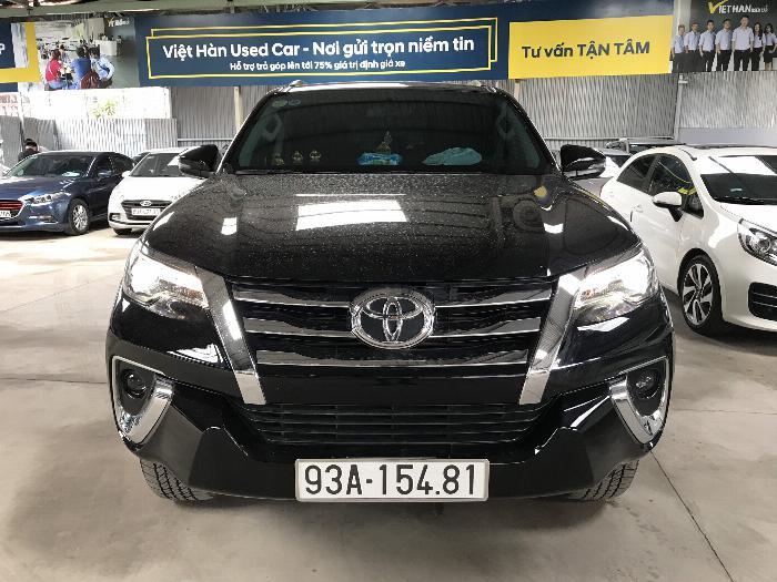 Bán Toyota Fortuner 2.8V 2 cầu số tự động máy dầu nhập khẩu INDONESIA T5/2019 màu đen VIP đi 8000km 27