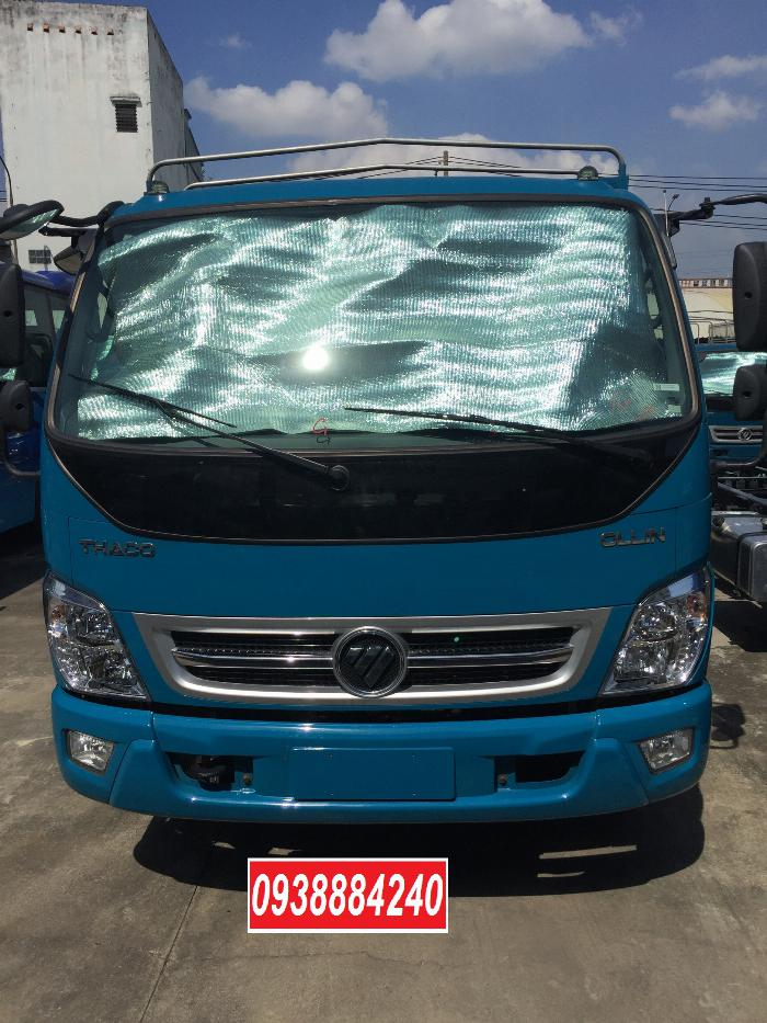 Bán trả góp xe tải Thaco Ollin500 Euro 4 đời 2019 tải 5 tấn Long An Tiền Giang Bến Tre trả trước 20% 4