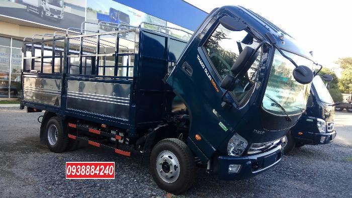 Bán trả góp xe tải Thaco Ollin500 Euro 4 đời 2019 tải 5 tấn Long An Tiền Giang Bến Tre trả trước 20% 15