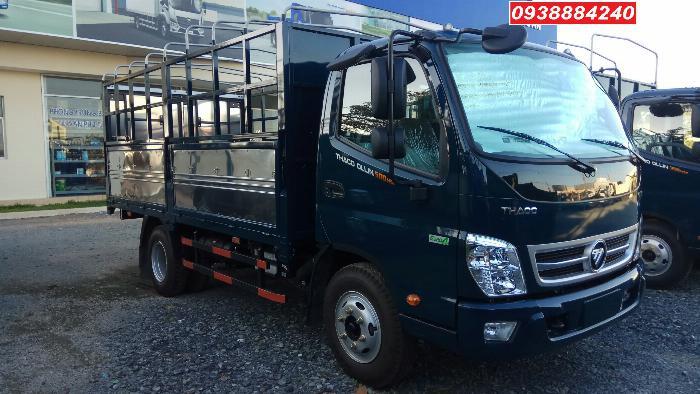 Bán trả góp xe tải Thaco Ollin500 Euro 4 đời 2019 tải 5 tấn Long An Tiền Giang Bến Tre trả trước 20%