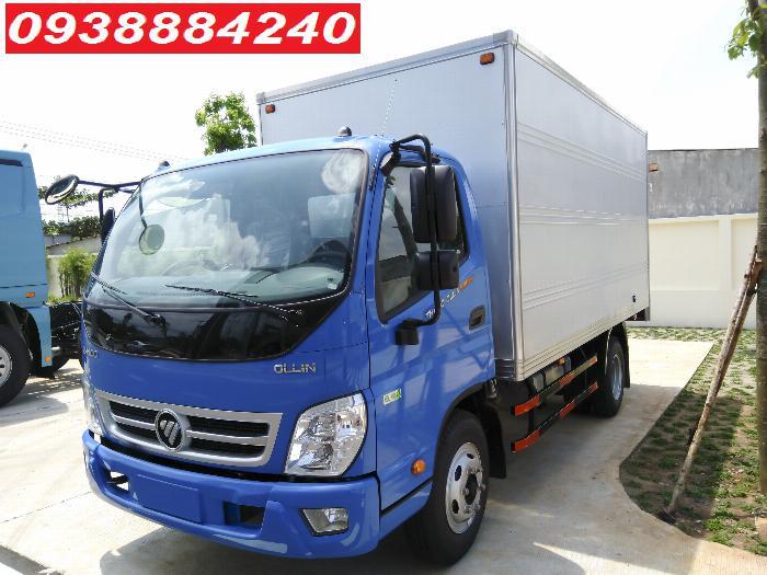 Bán trả góp xe tải Thaco Ollin500 Euro 4 đời 2019 tải 5 tấn Long An Tiền Giang Bến Tre trả trước 20% 5