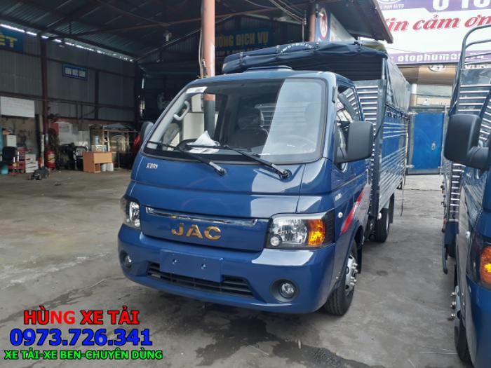 Xe tải JAC 1 tấn thùng 3m2 chỉ cần trả trước 40 triệu