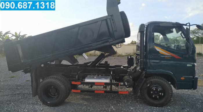 Bán Xe Ben Thaco Forland FD500 5 tấn thùng 4 khối Long an