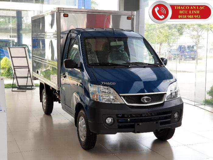 Xe tải Thaco Towner 990 tải trọng 990kg. Tặng 100% lệ phí trước bạ
