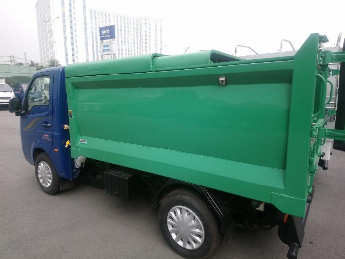 Kích thước lòng thùng hàng chở rác  Xe Ép Rác JAC 3.4 khối  2.620 x 1.500/1.410 x 900 mm