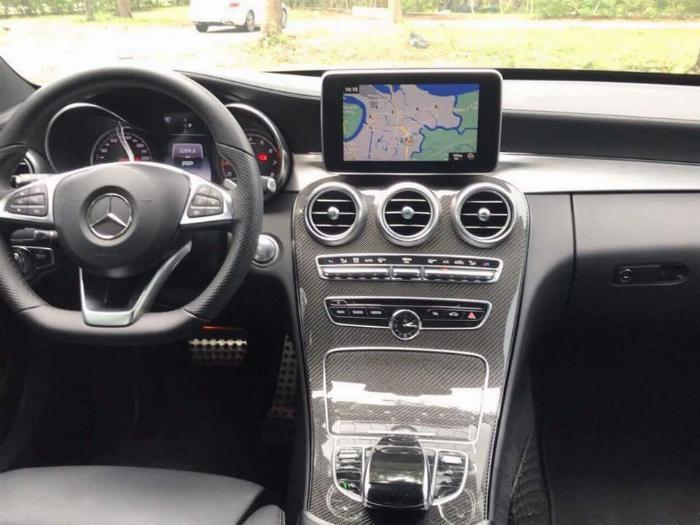 Gia đình cần bán C300 AMG , sản xuất 2018, bản full, màu đen cực ngầu 8