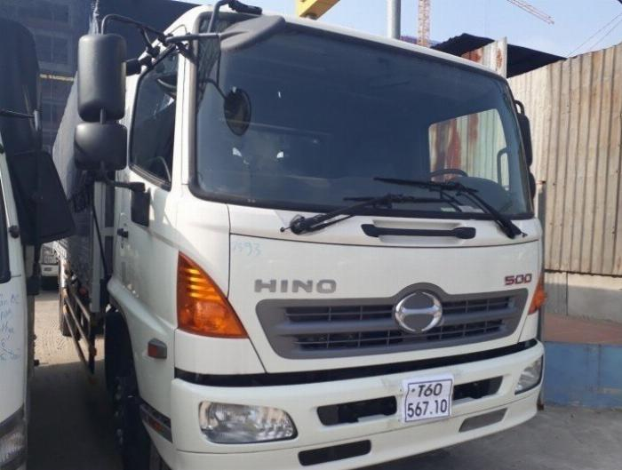 Ngoại thất xe Hino 8t - Hino Euro 2