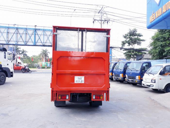 Xe tải ISUZU 2018 tải 1.9 tấn thùng kín bửng nâng Giao xe ngay khi thanh toán 20% 7