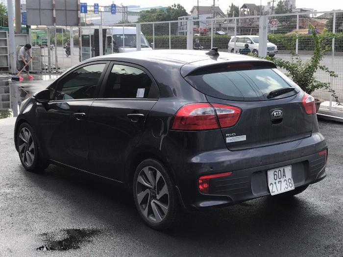 Bán Kia RIO HB 1.4AT màu xám chuột số tự động nhập Hàn Quốc 2014/ 2015 mẫu mới 5