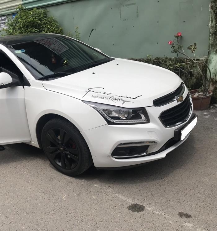 Cần bán xe Chevrolet Cruze 2017 Ltz tự động màu trắng 4