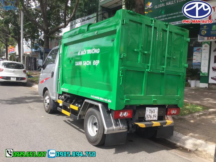 Xe jac chở rác, Xe tải thu gom rác, xe chở rác mini, Jac chở rác, 3.5 khối 4