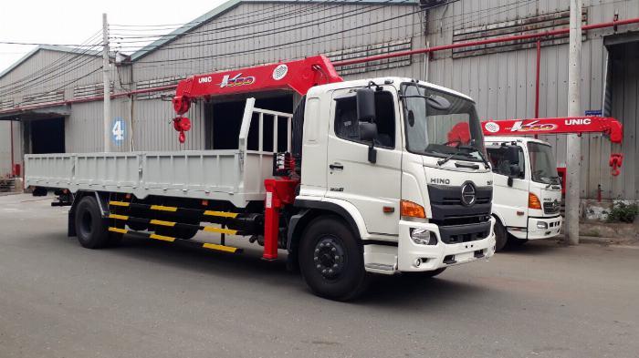 Xe tải HINO FG8JT7A gắn cẩu UNIC URV555 tải 6.7 tấn - Trả Góp