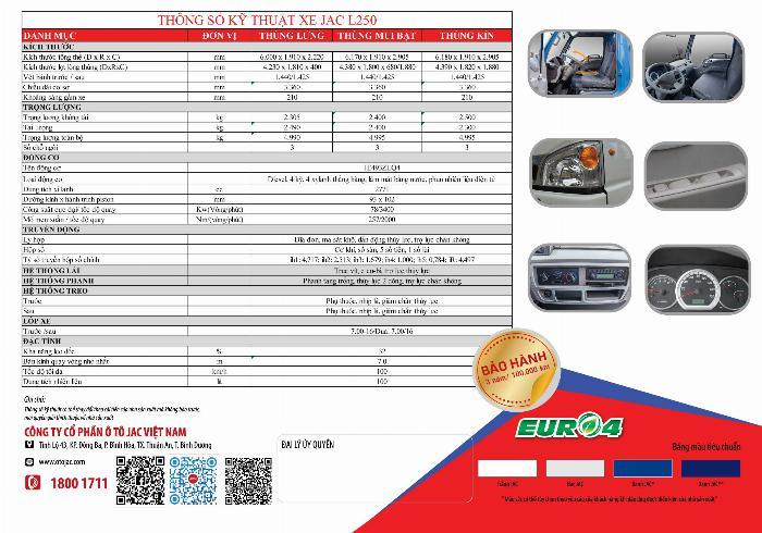 xe tải 2t4 máy ISUZU đồng bộ từ A tới Z thùng 4.4m hỗ trợ tra góp 80% xe 10