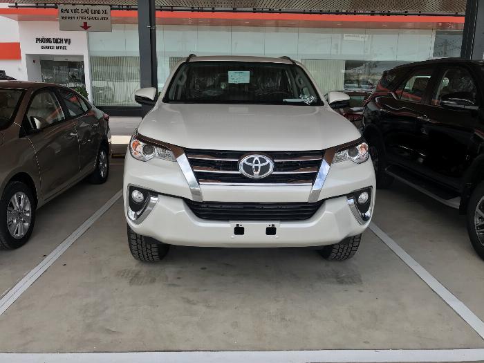 Khuyến Mãi Fortuner 2.7V Máy Xăng Số Tự Động Tại Toyota An Thành Fukushima Xe Có Sẳn, Đủ Màu, Giao Ngay