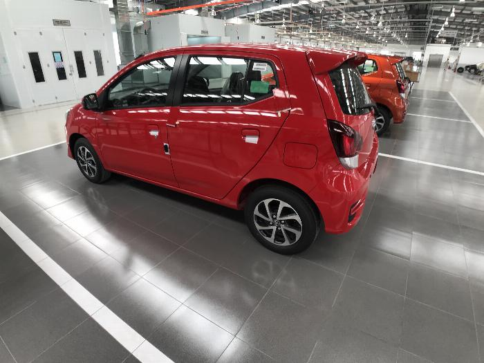 Toyota Wigo sản xuất năm 2019 Số tự động Động cơ Xăng