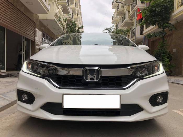 Cần bán xe Honda City 2018, số tự động, bản top, màu trắn 8