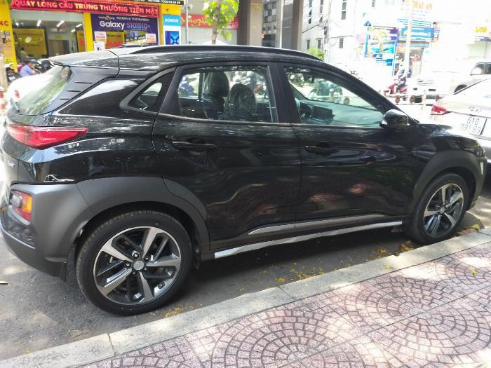 Hyundai Kona Turbo màu đen giá tốt, Hyundai An Phú, Hyundai Kona Turbo, Kona 2019, Xe Hyundai 0