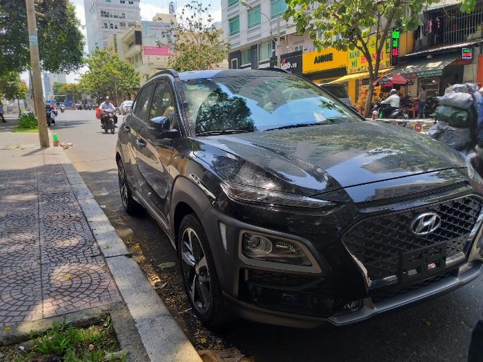 Hyundai Kona Turbo màu đen giá tốt, Hyundai An Phú, Hyundai Kona Turbo, Kona 2019, Xe Hyundai 3