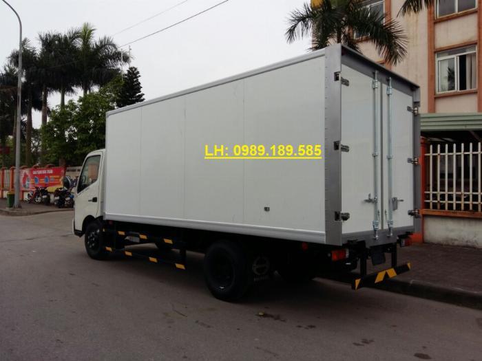 Bán trả góp xe tải đông lạnh hino 300 tải trọng 3.45 tấn 1