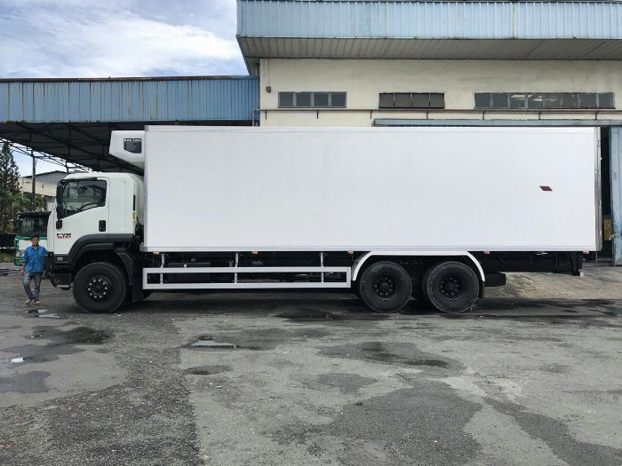 Xe tải thùng Đông Lạnh LAMBARET ISUZU FVM 2019 tải 15 tấn - Trả Góp 2