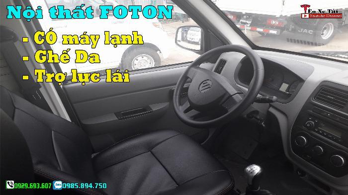 Xe tải FOTON 1 tấn – Fonton T3 1 tấn máy DAM 1.5cc 2