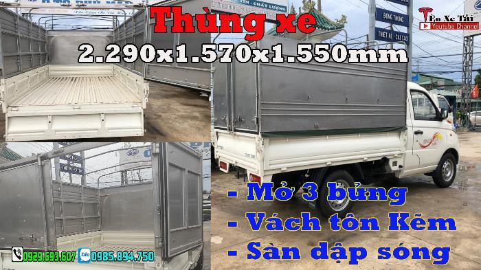 Xe tải FOTON 1 tấn – Fonton T3 1 tấn máy DAM 1.5cc 4