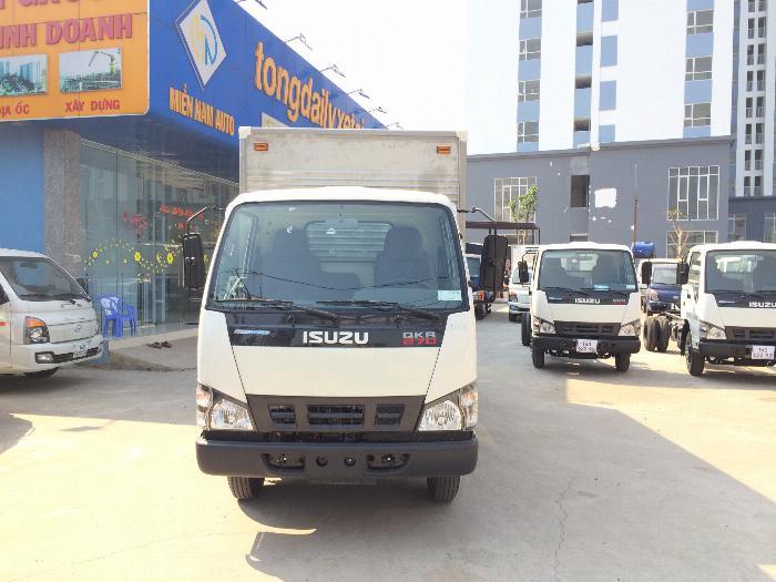 xe tải ISUZU tải 1.9 tấn 2.5 tấn 2.8 tấn thùng kín dài 4.3m - Trả Góp 0