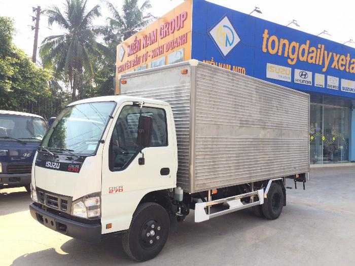 xe tải ISUZU tải 1.9 tấn 2.5 tấn 2.8 tấn thùng kín dài 4.3m - Trả Góp 6