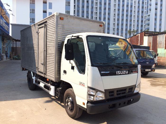 xe tải ISUZU tải 1.9 tấn 2.5 tấn 2.8 tấn thùng kín dài 4.3m - Trả Góp 2