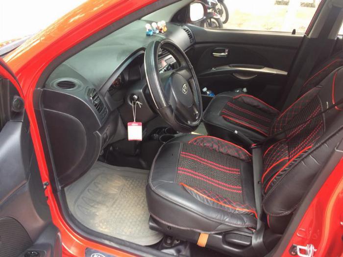 Cần bán xe Kia Morning 2011 số tự động màu đỏ, chính chủ 2