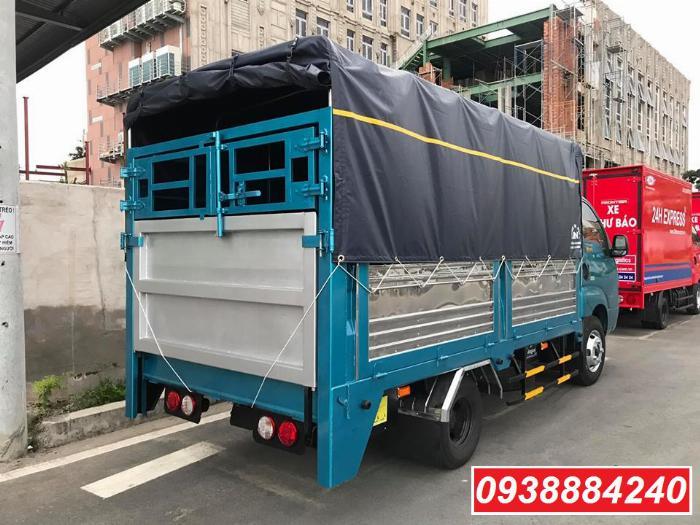 Bán xe tải trả góp Thaco Kia K250 / K200 thùng bạt, thùng kín bửng nâng 2.3 tấn Long An Tiền Giang Bến Tre