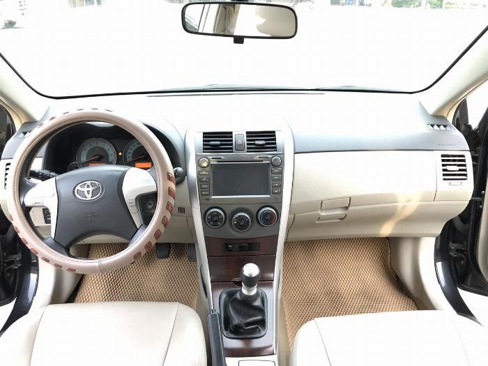 Toyota Corolla altis 1.8G năm sản xuất 2011, màu đen. Xe Cực Tuyển 17