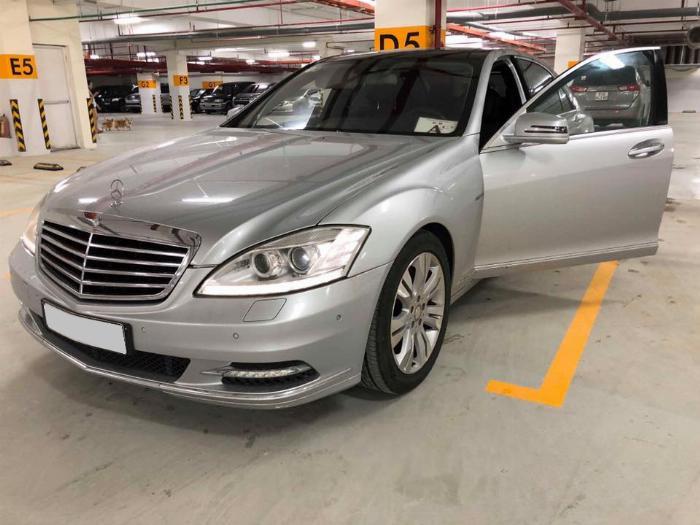 bán xe Mercedes S400 Hybrid 2012 màu bạc odo 63.000km biển tp chính chủ 5