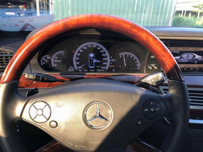 bán xe Mercedes S400 Hybrid 2012 màu bạc odo 63.000km biển tp chính chủ 7