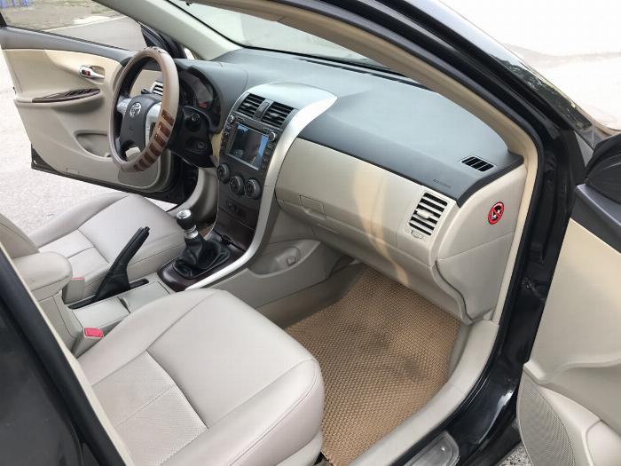 Toyota Corolla altis 1.8G năm sản xuất 2011, màu đen. Xe Cực Tuyển 15